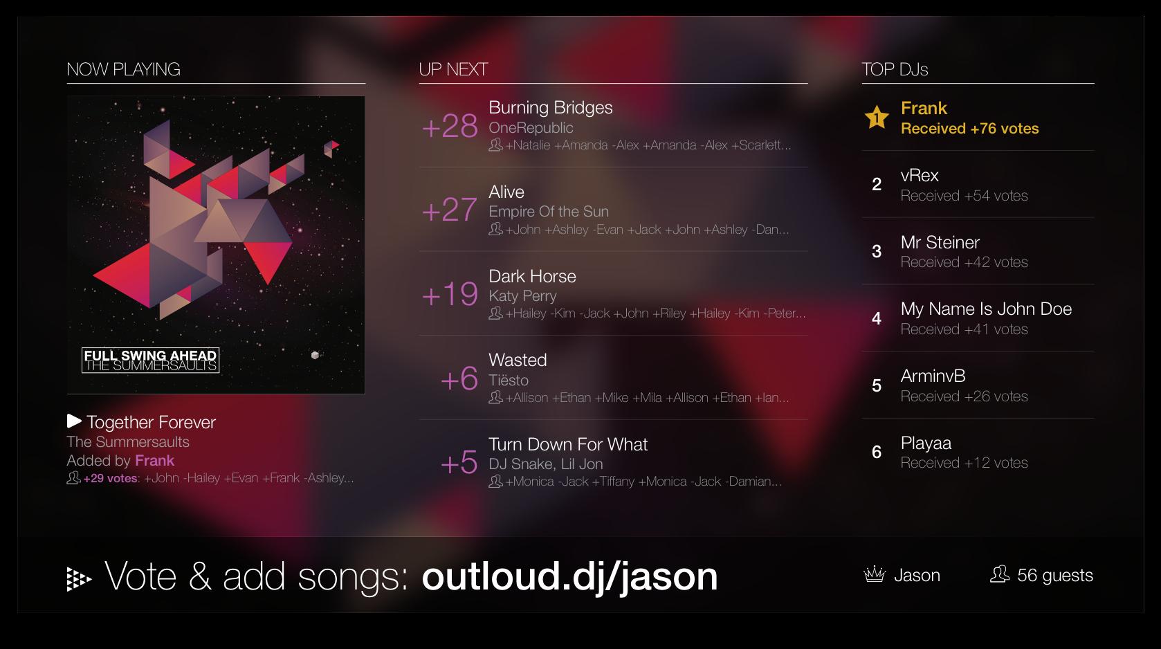 OutLoud - Your Social Jukebox